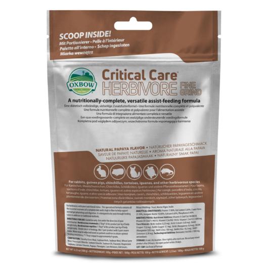 oxbow critical care fine grind