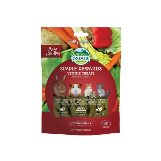 Oxbow Veggie Treats zöldséges jutalomfalat