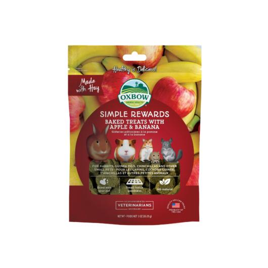 Oxbow Apple Banana Treats jutalomfalat
