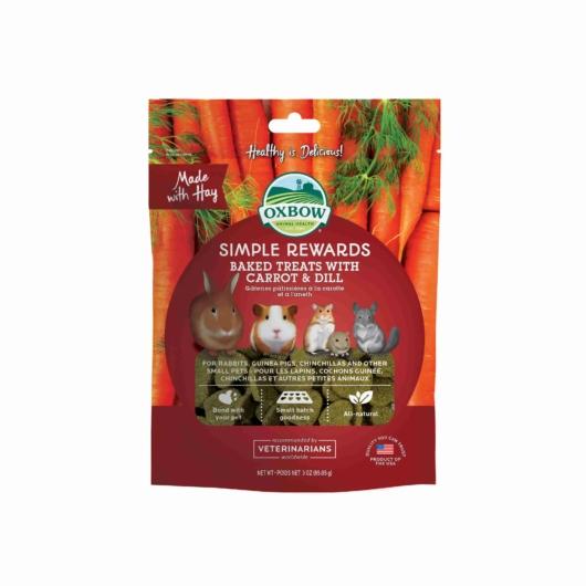 Oxbow Carrot and Dill jutalomfalat